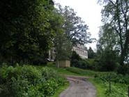 Slottet sett från hästhagen
